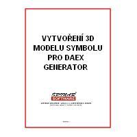 krabice 3D modelace symbolu pro DAEX Generator
