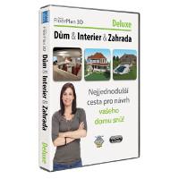 krabice TurboFLOORPLAN 3D Dům & Interiér & Zahrada Deluxe CZ
