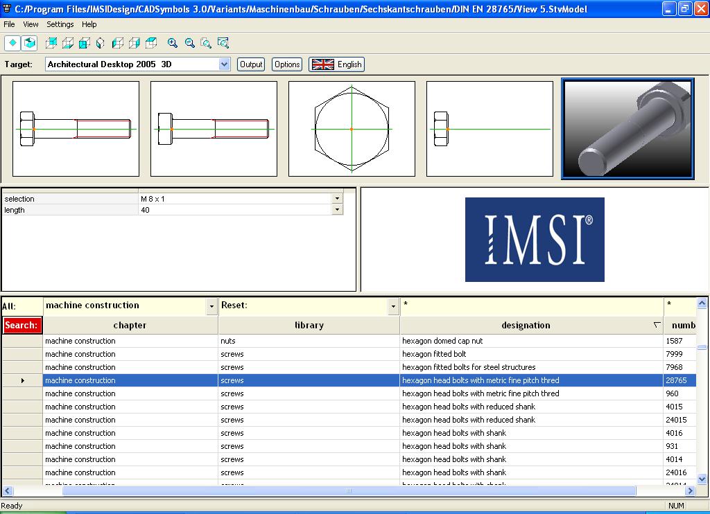 SPINAR CZ - 30 miliónů CAD Symbols pro DWG, DXF, 3DS, TCW - informace