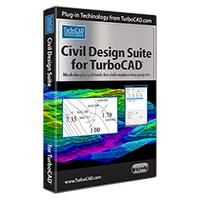 krabice Civil Design Suite pro TurboCAD (v anglické verzi)