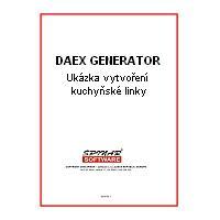 krabice DAEX Generator - manuál + Ukázka vytvoření kuchyně