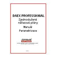 krabice DAEX Professional - manuál