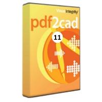 krabice PDF2CAD 11 - Převodník z PDF,AI..do DWG, DXF..