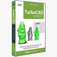 krabice TurboCAD Mac v12 PowerPack pro Deluxe