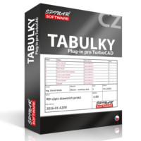 krabice Tabulky pro TurboCAD od ŠPINAR - software