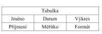 tabulka - TurboCAD Platinum 27 CZ