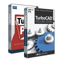 krabice TurboCAD Deluxe 24 CZ + TurboPDF 2 CZ