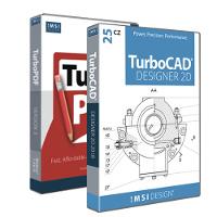 krabice TurboCAD Designer 24 CZ + TurboPDF 3 CZ