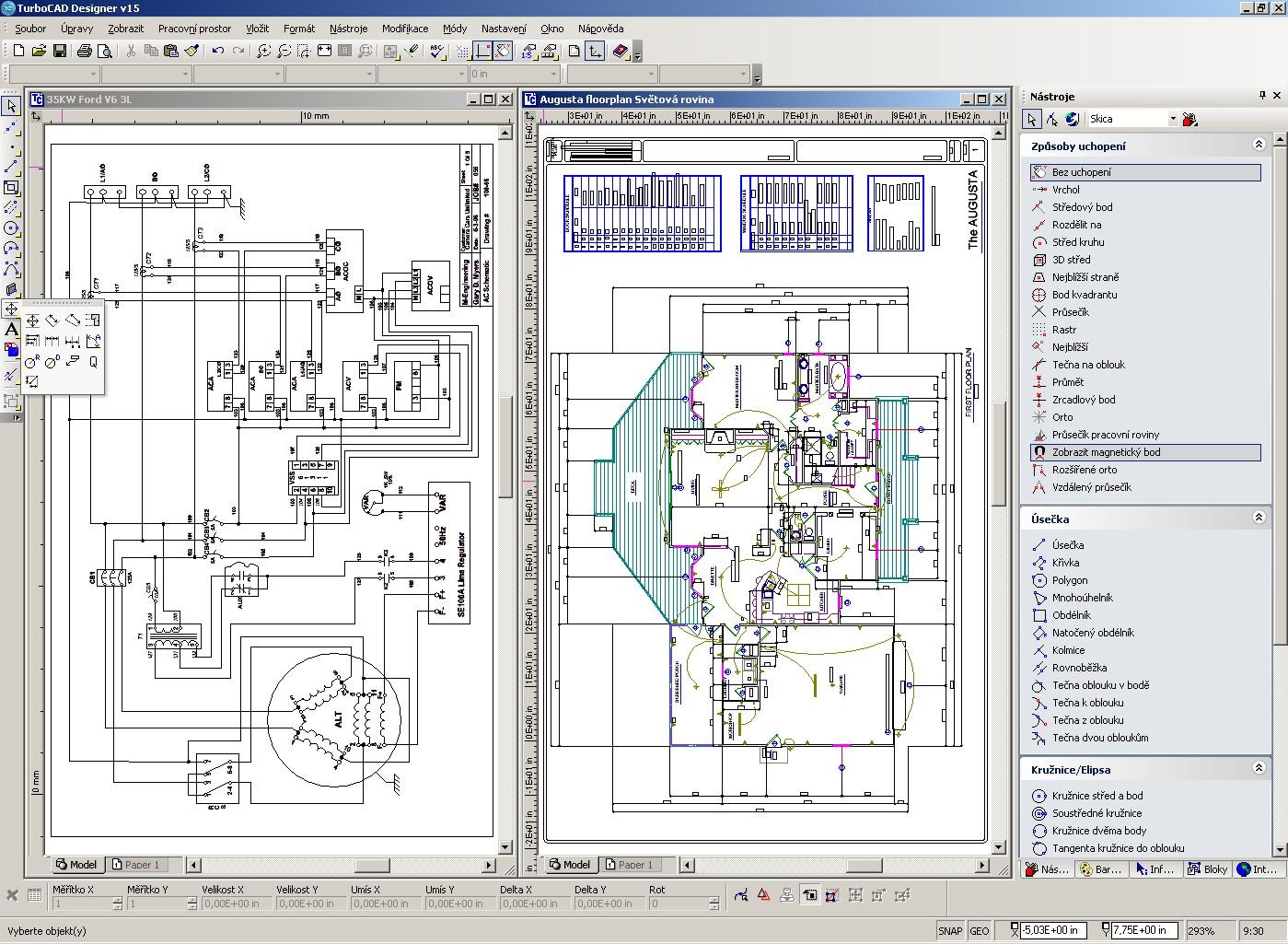 Spinar Cz Turbocad Designer 2d V17 Cz Informace