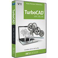 krabice TurboCAD Mac Deluxe 2D/3D v11