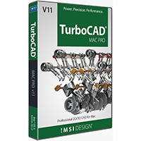 krabice TurboCAD MAC PRO v11