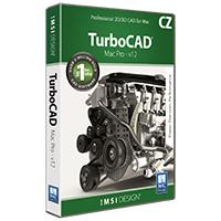 krabice TurboCAD MAC PRO v12 CZ