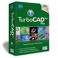 krabice TurboCAD Mac
