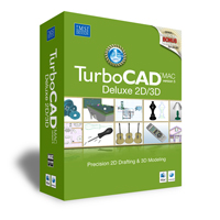 krabice TurboCAD Mac Deluxe