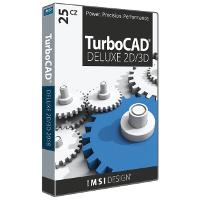 krabice TurboCAD Deluxe 25 CZ