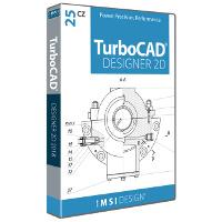 krabice TurboCAD Designer 25 CZ