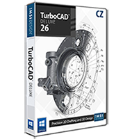 krabice TurboCAD Deluxe 26 CZ