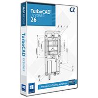 krabice TurboCAD Designer 26 CZ