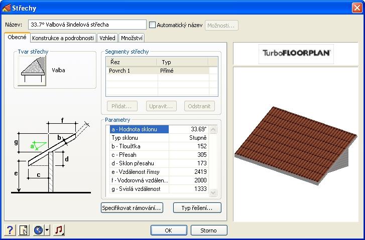 Vytvořte střechu
